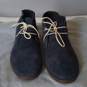 Ben Sherman Shoes - Ben Sherman Mens Suede Chukka Boots - Navy